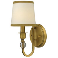 Hinkley 4870BR Morgan 1 Light 6 inch Brushed Bronze Sconce Wall Light photo thumbnail