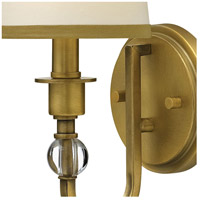 Hinkley 4870BR Morgan 1 Light 6 inch Brushed Bronze Sconce Wall Light alternative photo thumbnail