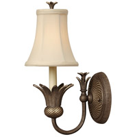 Hinkley Lighting Plantation 1 Light Sconce in Pearl Bronze 4880PZ