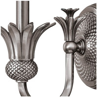 Hinkley 4880PL Plantation 1 Light 6 inch Polished Antique Nickel Sconce Wall Light alternative photo thumbnail