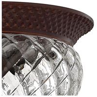 Hinkley 4881CB Plantation 3 Light 16 inch Copper Bronze Foyer Flush Mount Ceiling Light alternative photo thumbnail