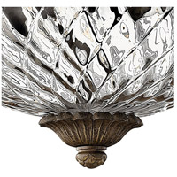 Hinkley 4881PZ Plantation 3 Light 16 inch Pearl Bronze Bath Flush Mount Ceiling Light alternative photo thumbnail