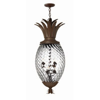 Hinkley Lighting Plantation 6 Light Hanging Foyer in Copper Bronze 4882CB photo thumbnail