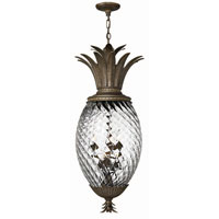 Hinkley Lighting Plantation 6 Light Hanging Foyer in Pearl Bronze 4882PZ
