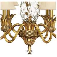Hinkley 4886BB Plantation 7 Light 28 inch Burnished Brass Foyer Chandelier Ceiling Light alternative photo thumbnail
