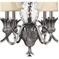Hinkley 4886PL Plantation 7 Light 28 inch Polished Antique Nickel Foyer Chandelier Ceiling Light alternative photo thumbnail