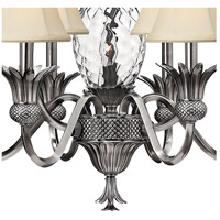 Hinkley 4886PL Plantation 7 Light 28 inch Polished Antique Nickel Chandelier Ceiling Light alternative photo thumbnail