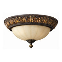 Hinkley Lighting Veranda 3 Light Flush Mount in Summerstone 4891SU photo thumbnail