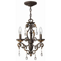 Hinkley Lighting Veranda 3 Light Chandelier in Summerstone 4893SU photo thumbnail