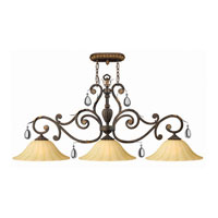 Hinkley Veranda Island 3Lt Chandelier in Summerstone 4894SU photo thumbnail