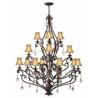 Hinkley Lighting Veranda 16 Light Chandelier in Summerstone 4899SU photo thumbnail