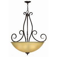 Hinkley Canyon Ridge Pendant 5Lt Foyer in Rustic Iron 4918RI photo thumbnail