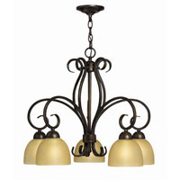 Hinkley Canyon Ridge 5Lt Chandelier in Rustic Iron 4919RI photo thumbnail