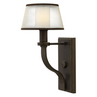 Hinkley 4960OB Prescott 1 Light 7 inch Olde Bronze Sconce Wall Light