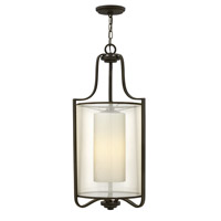 Hinkley 4962OB Prescott 1 Light 15 inch Olde Bronze Foyer Ceiling Light