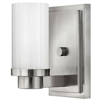 Hinkley 4970BN Midtown 1 Light 5 inch Brushed Nickel Sconce Wall Light photo thumbnail