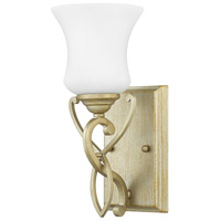 Brooke 1 Light 5 inch Silver Leaf Bath Sconce Wall Light in Incandescent