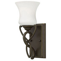 Brooke 1 Light 5 inch Olde Bronze Bath Wall Light in Incandescent