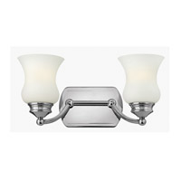 Constance 2 Light 16 inch Chrome Bath Vanity Wall Light