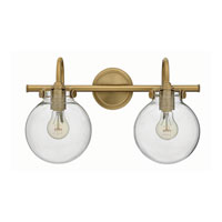 Hinkley Lighting Congress 2 Light Bath in Brushed Caramel 50024BC