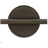 Hinkley 50026OZ Congress 2 Light 19 inch Oil Rubbed Bronze Bath Light Wall Light, Retro Glass alternative photo thumbnail