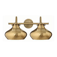 Hinkley Lighting Congress 2 Light Bath in Brushed Caramel 50028BC