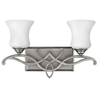 Brooke 2 Light 17 inch Antique Nickel Bath Light Wall Light in Incandescent