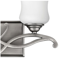Hinkley 5002AN Brooke 2 Light 17 inch Antique Nickel Bath Light Wall Light in Incandescent alternative photo thumbnail