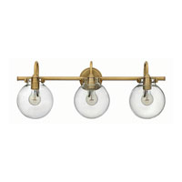 Hinkley Lighting Congress 3 Light Bath in Brushed Caramel 50034BC