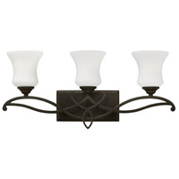 Hinkley 5003OB Brooke 6 Light 24 inch Olde Bronze Bath Light Wall Light in 3, Incandescent