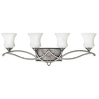 Brooke 4 Light 31 inch Antique Nickel Bath Vanity Wall Light in Incandescent