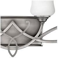 Hinkley 5004AN Brooke 4 Light 31 inch Antique Nickel Bath Light Wall Light in Incandescent alternative photo thumbnail