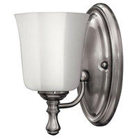 Hinkley 5010BN Shelly 1 Light 6 inch Brushed Nickel Bath Sconce Wall Light photo thumbnail