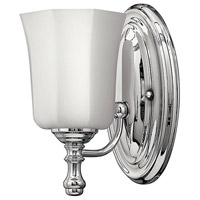 Hinkley 5010CM Shelly 1 Light 6 inch Chrome Bath Sconce Wall Light photo thumbnail