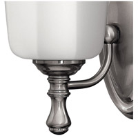 Hinkley 5010BN Shelly 1 Light 6 inch Brushed Nickel Bath Sconce Wall Light alternative photo thumbnail