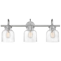 Hinkley 50123CM Congress 3 Light 30 inch Chrome Bath Light Wall Light