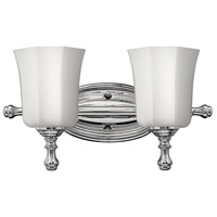 Hinkley 5012CM Shelly 2 Light 16 inch Chrome Bath Light Wall Light