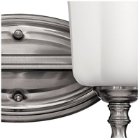 Hinkley 5012BN Shelly 2 Light 16 inch Brushed Nickel Bath Light Wall Light alternative photo thumbnail