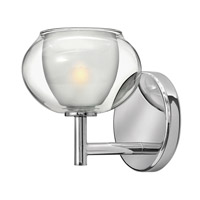 Katia 1 Light 6 inch Chrome Bath Wall Light
