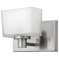 Taylor LED 8 inch Brushed Nickel Bath Sconce Wall Light