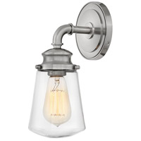 Fritz 1 Light 5 inch Brushed Nickel Bath Sconce Wall Light