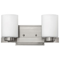 Miley LED 13 inch Brushed Nickel Bath Light Wall Light