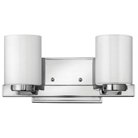 Hinkley 5052CM-LED Miley LED 13 inch Chrome Bath Light Wall Light