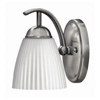 Hinkley Lighting Devon 1 Light Bath Vanity in Brushed Nickel 5070BN photo thumbnail
