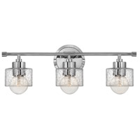 Hinkley Lighting Bryanna 3 Light Bath Vanity in Chrome 5083CM photo thumbnail