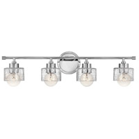 Hinkley Lighting Bryanna 4 Light Bath Vanity in Chrome 5084CM photo thumbnail