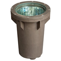 Signature 120V 100 watt Bronze Landscape Well Light, Line Voltage
