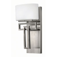 Hinkley Lighting Lanza 1 Light Bath in Antique Nickel 5100AN-LED2