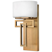Lanza LED 7 inch Brushed Bronze Vanity Light Wall Light