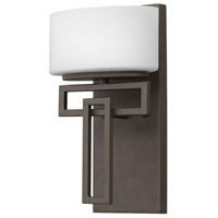 Lanza LED 7 inch Buckeye Bronze Bath Sconce Wall Light